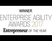 Winner Enterprise Agility Awards 2017 Entrepreneur of the year